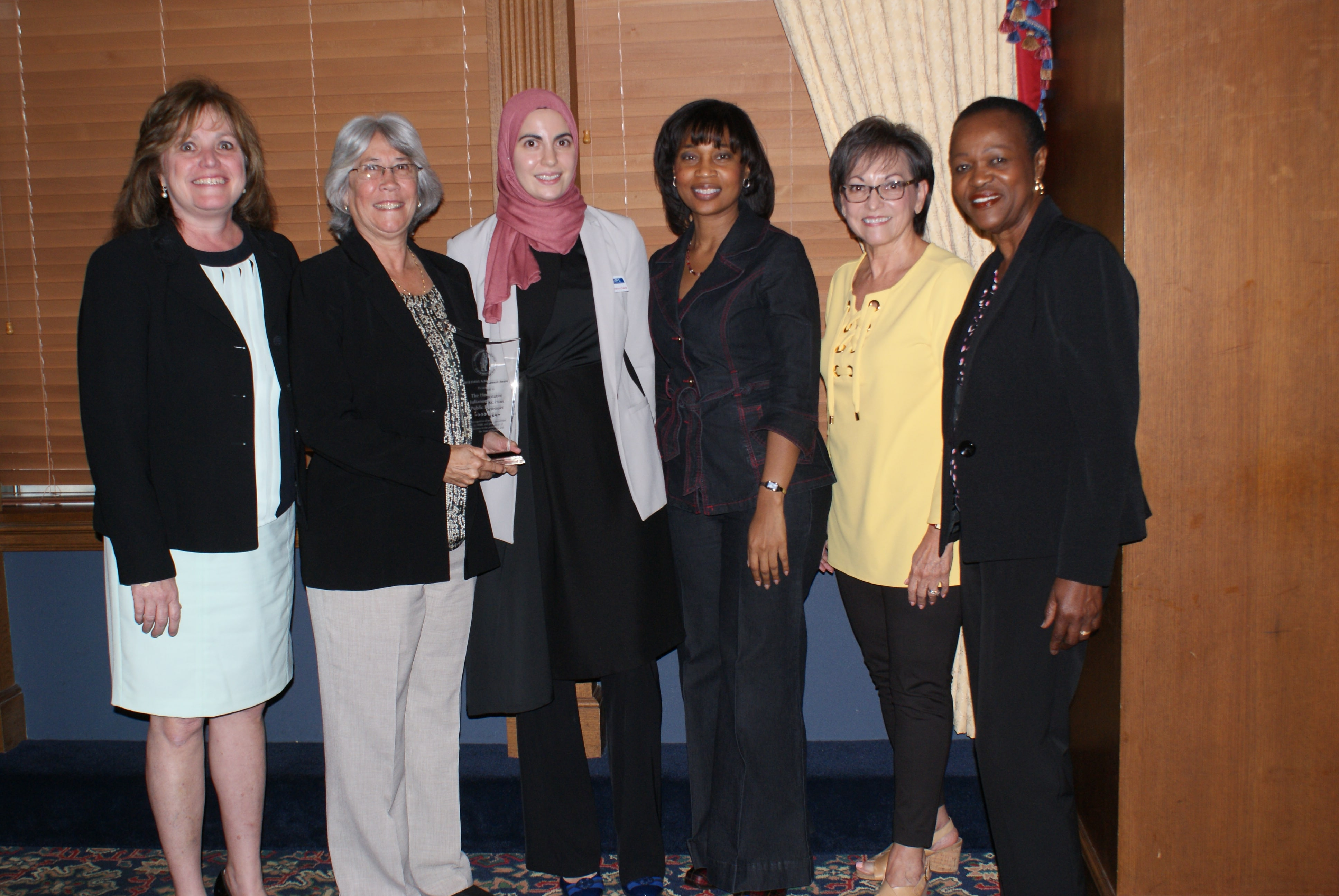 Ms. Holt was recognized by the Hillsborough Association for Women Lawyers (HAWL) for female attorneys who have made meaningful                     contributions to the community through their legal service or volunteer activities